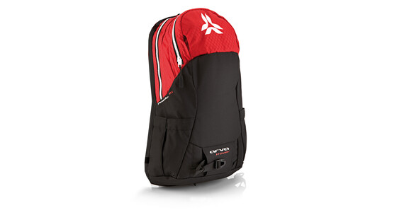 Arva X-Powder 15 - Mochilas - Zip-On rojo/negro